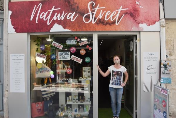 Liquidation avant fermeture au magasin Natura Street à Chalon-sur-Saône
