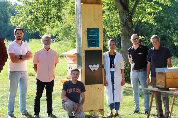 Inauguration du stand CowoBee à Champforgeuil dans le cadre du Festival des solutions écologiques