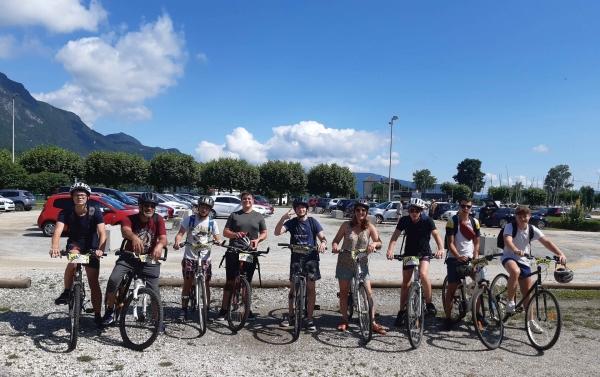 Séjour au Bourget du Lac pour 7 jeunes de l'ERJ de Châtenoy-le-Royal