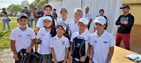 Golf Chalon 3e de la finale régionale du 1er challenge national des écoles de golf