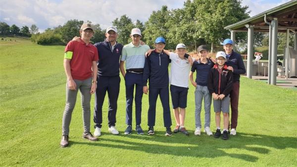 AS Golf Chalon : les U16 garçons assurent l'essentiel