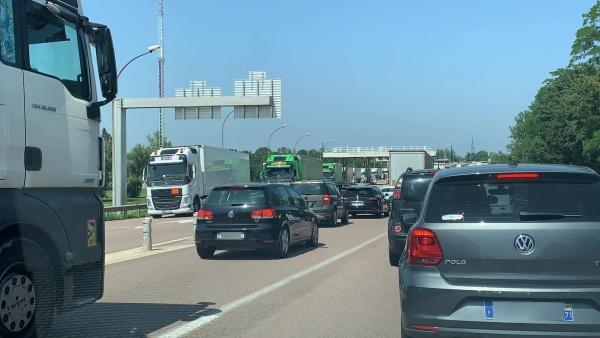 Ralentissements autoroute A6 ce mardi après-midi