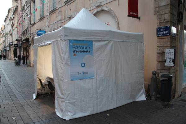 96 autotests réalisés la semaine dernière à Chalon-sur-Saône