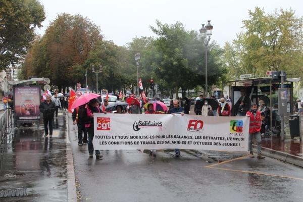 Grève du 5 octobre : tour de chauffe pour l'Intersyndicale