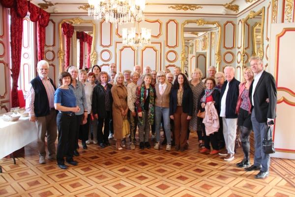 Réception des villes jumelées avec Chalon-sur-Saône