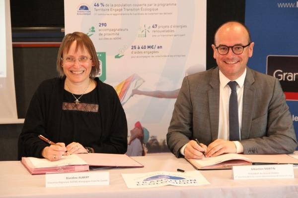 Signature du contrat d'objectif territorial ADEME 2021/2024