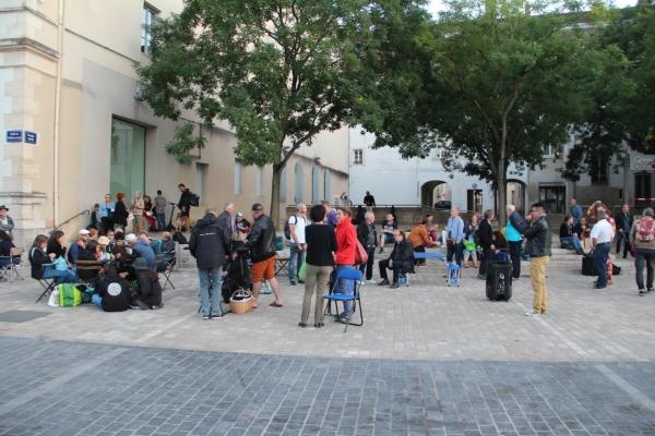 Plus de 130 personnes pour la 11ème terrasse sauvage à Chalon-sur-Saône