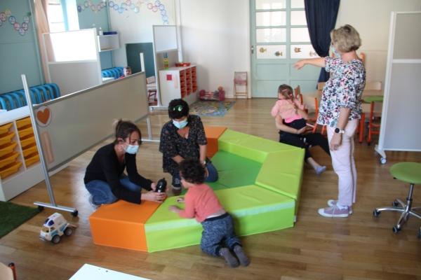 Ouverture d'une classe UEMA à l'École Maternelle de l'Est