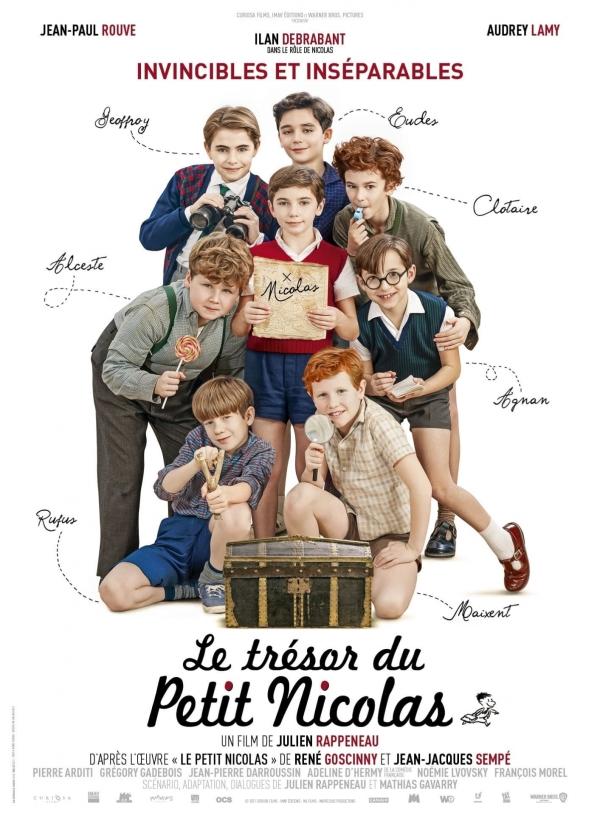 Avant-première :  «Le trésor du petit Nicolas» au Mégarama Chalon