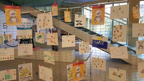Septembre en Or: Exposition de dessins d'enfants à l'Hôpital William Morey