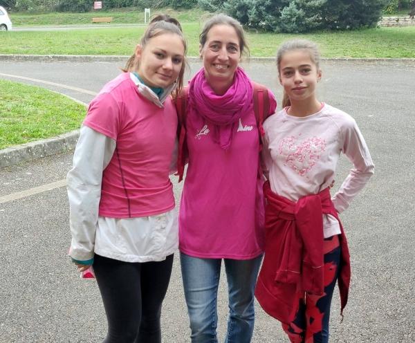 La commune de Dracy le Fort a organisé sa première marche rose