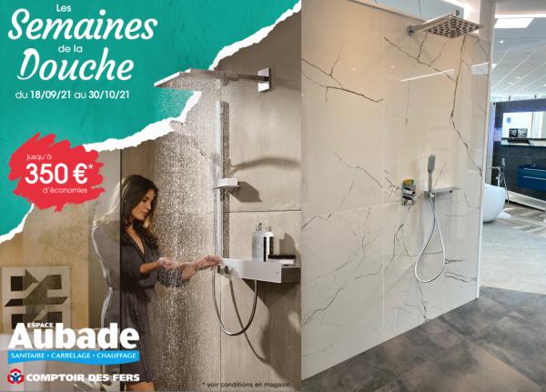À l'Espace Aubade Comptoir des Fers Chalon/Saône : « Les Semaines de la Douche » sont synonymes d'Économies !