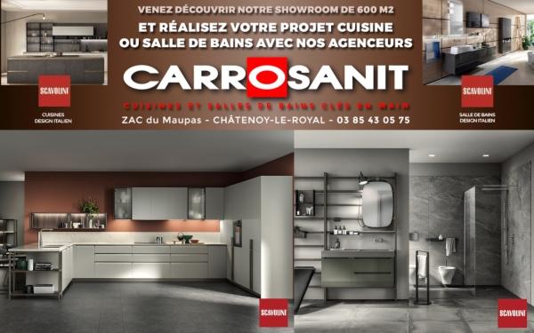 Votre cuisine et salle de bains clés en main avec les agenceurs Carrosanit