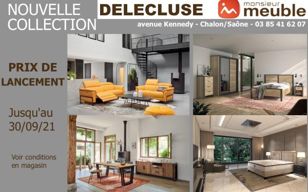 Venez découvrir la Nouvelle Collection chez Monsieur Meuble Delécluse, la plus grande exposition d'ameublement de qualité de la région !