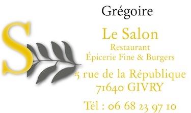 Le Salon de Grégoire à Givry recherche Serveur / Serveuse de restaurant