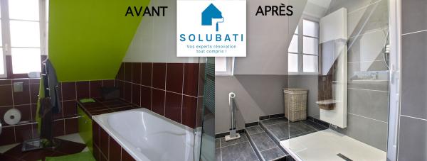 Votre salle de bains mise au goût du jour par SOLUBATI